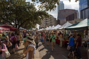 downtown Austin farmer's market
