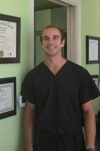 Dr. Zarchary Carlson of Green Apple Pediatric Dentistry in Austin Texas